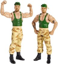 Coffret de 2 figurines Bushwhacker Butch et Luke de WWE