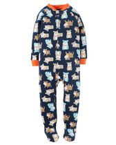 Child of Mine made by Carter's Infant Boys' 1-Piece Dogs Fleece Sleeper Pyjamas 18M