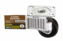 "1-1/4"" Caster Plate with Swivel 1 Piece"