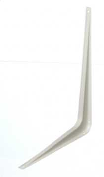 "12""x14"" White Shelf Bracket 1 Piece"
