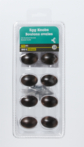 "1-1/2"" Oil Rubbed Bronze Egg Knob 10 Pieces"