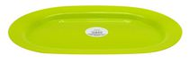 Grey Label Oval Tray Green