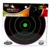 E & F Dirty Bird 20 cm Bull's-eye Splattering Target- 20 sheet pack