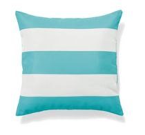 hometrends 20 Inch Reversible Toss Cushion Blue