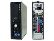 Dell 780 SFF Refurbished Desktop with Core 2 Duo 3.0GHz Processor, Windows 10 Pro