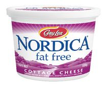 Fromage cottage sans gras de Nordica