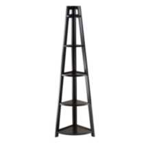 20527 Adam 5-tier A-frame corner shelf