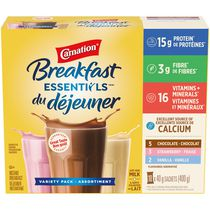 Carnation Breakfast Essentials Breakfast Powder Drink Mix - Variety Pack