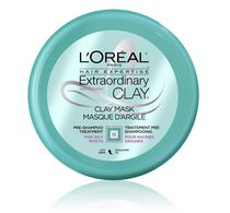 Masque de traitement pré-shampooing Extraordinary Clay Hair Expertise L'Oreal Paris