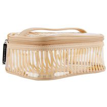 Still Spa Clear Cosmetic Train Case