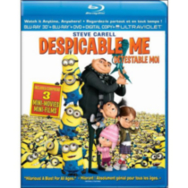 Despicable Me 3D (Blu-ray 3D + Blu-ray + DVD + Digital Copy + UltraViolet) (Bilingual)