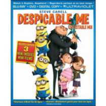 Despicable Me (Blu-ray + DVD + Digital Copy + UltraViolet) (Bilingual)