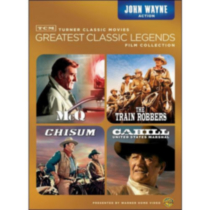 TCM Greatest Classic Legends Film Collection: John Wayne Action - McQ / The Train Robbers / Chisum / Cahill: United States Marshall