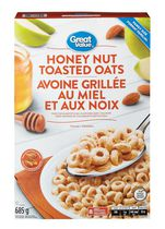 Great Value Family Size Honey Nut Toasted Oats