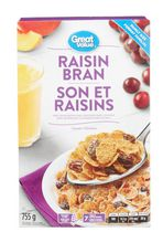 Son et raisins Great Value format familial