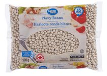 Haricots ronds blancs Great Value