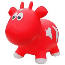 Farm Hoppers Animal Bouncers Cow, Red