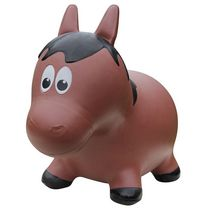 Farm Hoppers Animal Bouncers Horse, Brown