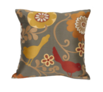 Coussin décoratif 'Happy as a Lark'