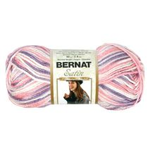 Bernat Satin Yarn Sweet Pea Ombre