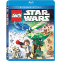 LEGO Star Wars - La Menace Des Padawan (Blu-ray + DVD) (Bilingue)