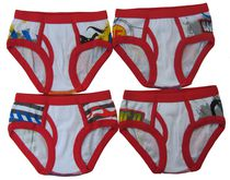 Disney Boys Cars 4 Pack Briefs 4