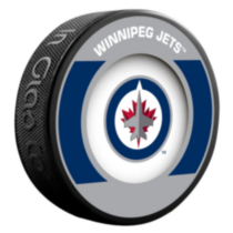 NHL Winnipeg retro puck