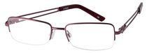 Nikita A1542 Rose Ladies Flex Metal Semi Rimless Frame