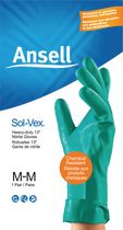 Ansell Sol-Vex Heavy Duty Nitrile Gloves