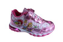 Disney Princess Toddler Girls' Light Up Athletic Shoes 12