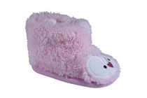George Girls' Cutie Boot Style Slippers 1-2