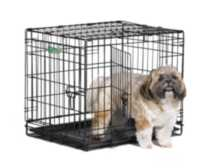 "24"" iCrate Dog Cage 2-Door"