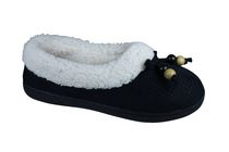 George Women's Paula Microsuede Slippers Black 7-8