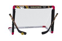 Ensemble de but de hockey miniature des Senators