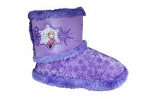 Frozen Toddler Girls' Boot Style Slippers 11-12