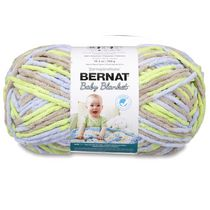Bernat Baby Blanket Big Ball Yarn White