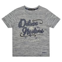 George British Design Boys' Deluxe Motors T Shirt 5-6