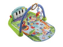 Fisher-Price Piano Gym, Kick and Play, Blue
