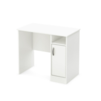 South Shore Smart Basics Small Desk White