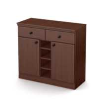 South Shore Morgan Storage Console Cherry