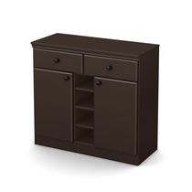 South Shore Morgan Storage Console Chocolate