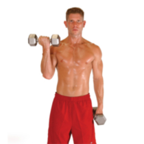 25 lb Hex Dumbbell