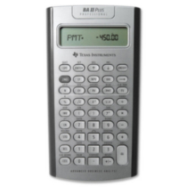 Calculatrice BAII PLUS™ PROFESSIONAL