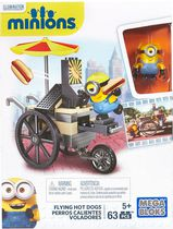 Mega Bloks Minion Movie Flying Hot Dogs