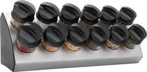 Trudeau Maison Wedge 12-bottle Spice Rack