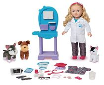 My Life As 18-inch Caucasian with Blonde Hair Veterinarian Doll