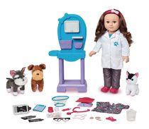 My Life As 18-inch Caucasian with Brunette Hair Veterinarian Doll