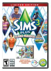 THE SIMS 3 ISLAND PLUS PARADISE (LTD) PC