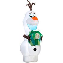 Airblown Self-Inflatable Olaf with Gift