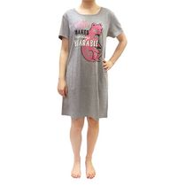 George Ladies' Nightshirt Grey Mix Large